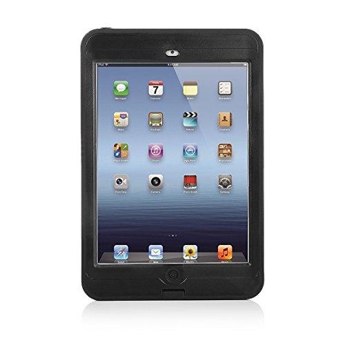 Easylife iPad Mini 1/2/3防水ケース 防塵 耐衝撃 IP68防水等級(2m深さまで)(iPad Mini 1/2/3, ブラック)
