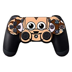Protective Vinyl Skin Decal Cover for Sony PlayStation DualShock 4 Controller Sticker Skins Monkey