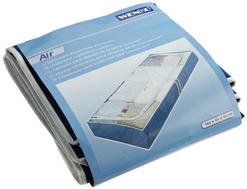 Wenko 4380630100 air housse de rangement sous lit for Housse de rangement sous lit
