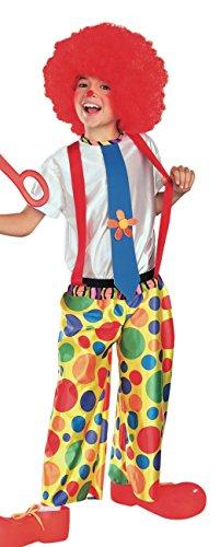 Rubie'S Costume Chuckle King Clown Child Costume, Medium front-496000