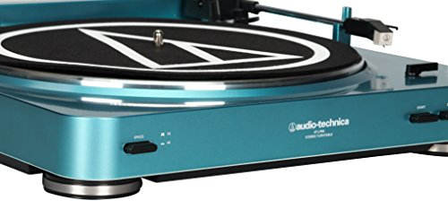Audio Technica At Lp60bl Fully Automatic Stereo Turntable