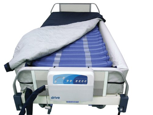 "Drive Medical Med Aire 8"" Defined Perimeter Low Air Loss Mattress Replacement System With Low Pressure Alarm, 8"" front-1066765"