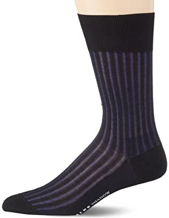 FALKE Herren Socken 14648 Shadow Business SO, Gr. 45/46, Schwarz (black 3003)