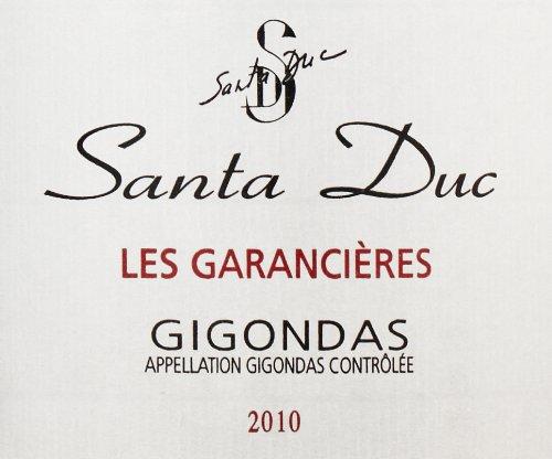 "2010 Domaine Santa Duc ""Les Garancieres,"" Gigondas 750 Ml"