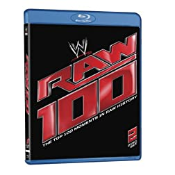 WWE: Raw 100 - The Top 100 Moments in Raw History [Blu-ray]
