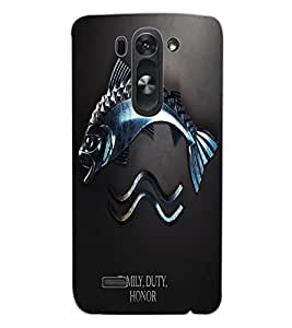 ColourCraft Quote Design Back Case Cover for LG G3 S