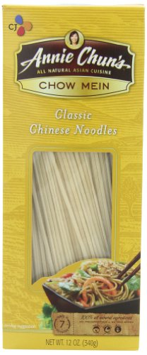 Annie Chun's Chow Mein Noodles, 12-Ounce Boxes (Pack of 6)