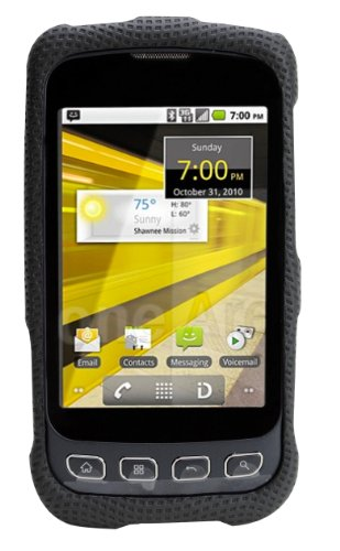 Body Glove Glove Snap-On Case with Belt Clip for LG Optimus S ( Black )