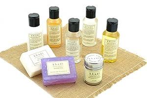 Khadi - Complete Herbal Skin Care Kit of Scrub, Oils, Soaps & Shampoo