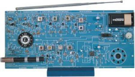 Jlr Hmqr: Elenco Am/Fm Radio Kit PC Board Audio Amplifier FM
