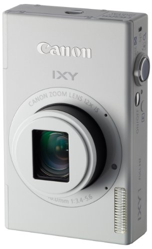 Canon デジタルカメラ IXY 1 ホワイト 光学12倍ズーム Wi-Fi対応 IXY1(WH)
