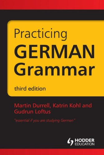 Practicing German Grammar
