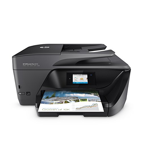 HP OfficeJet Pro 6970 Stampante E-All-In-One, 600X1200, Nero