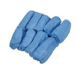 WAWO 200 Pcs Disposable Shoe Covers Carpet Cleaning Overshoe (200PCS)