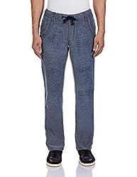 Yellow Jeans Men's Fashion Slim Jeans (PLAYBOY 607_38W x 34L_Grey and Blue)