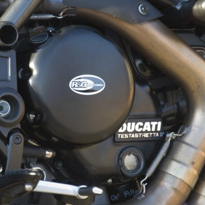 Couvre Carter Droit Embrayage R&G Ducati Diavel 11-13