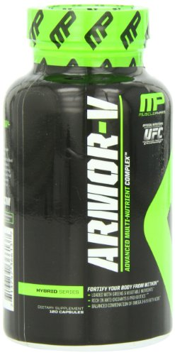 Muscle Pharm Armour V Capsules, 120 Count