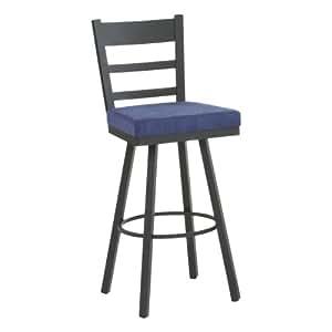 amisco 34 inch owen swivel extra tall bar stool barstools. Black Bedroom Furniture Sets. Home Design Ideas