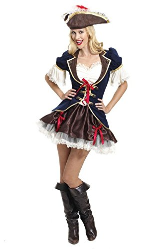 Captain Buccaneer Costume - Adult - Small