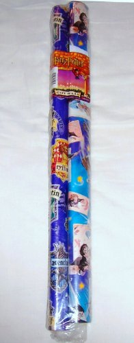 Twin Rolls Classic Harry Potter Wrap Wrapping Paper Rolls & Gift Tags Set - Imported from England