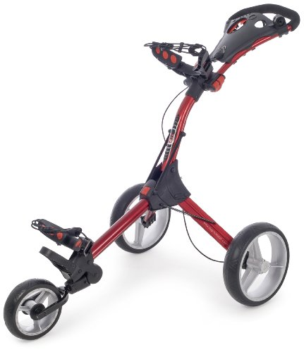 Big Max Iq Lightweight  3 Wheel Trolley - Red