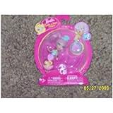 Barbie Peek a Boo Petites Doll Ring #519 Pink / Teal Mermaid Manufactured in 2008