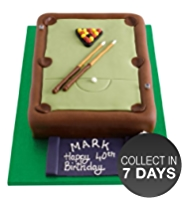 Pool Table Cake
