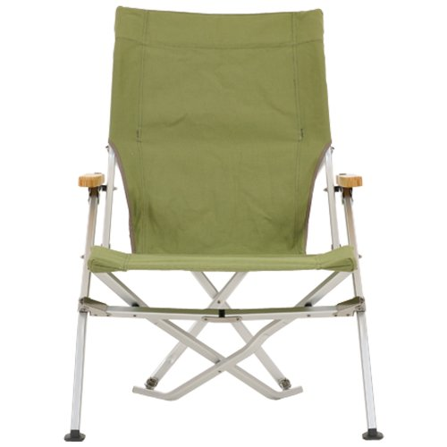 Snow Peak Folding Beach Chair, Green (Snow Peak Bamboo compare prices)