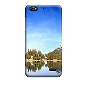 Ebby Premium Printed Back Case Cover With Full protection For HuaweiHonor4C (Designer Case)