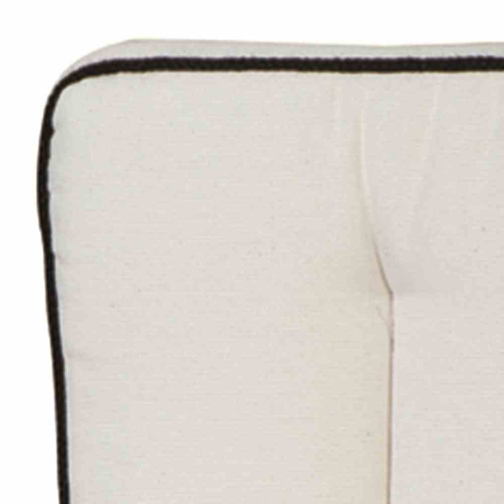 MBM 156161 Auflage Romeo Elegance, Sitz- und Rückenkissen zu 3-er Bank, natur online kaufen