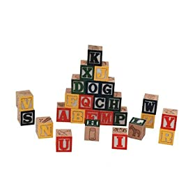 The Toy Box Wooden Alphabet Blocks