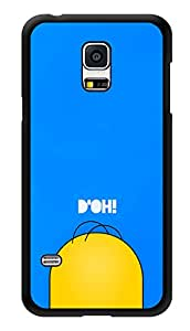 "Humor Gang Minimal Confused Man Art Printed Designer Mobile Back Cover For ""Samsung Galaxy S5"" (3D, Glossy, Premium Quality Snap On Case)"