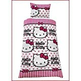 Childrens/Kids Hello Kitty Quilt/Duvet Cover Bedding Set