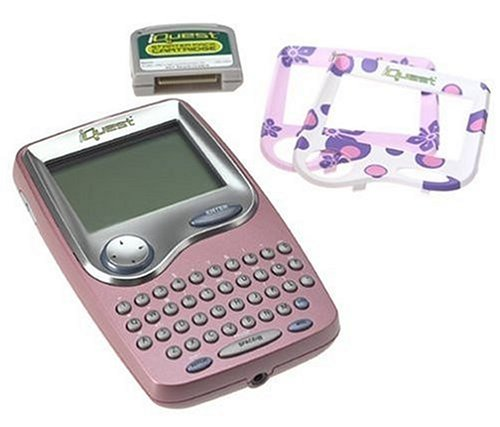 LeapFrog-iQuest-Handheld-Expandable-Study-System-with-BONUS-Starter-Pack-Cartridge-For-grades-5-to-8