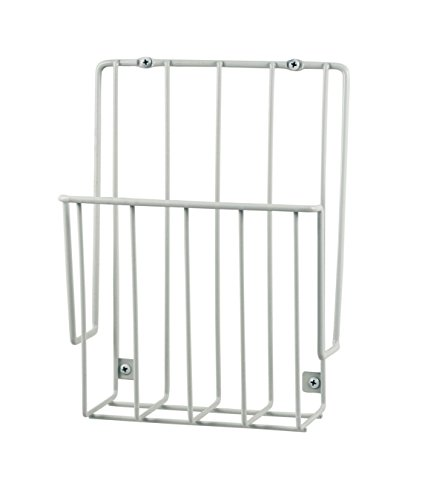 Spectrum Diversified Mountable Wrap Rack, White (Inside Cabinet Foil Holder compare prices)