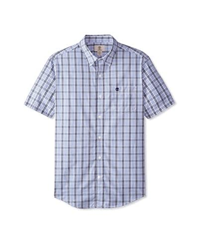 Timberland Men's Checked Short Sleeve Shirt