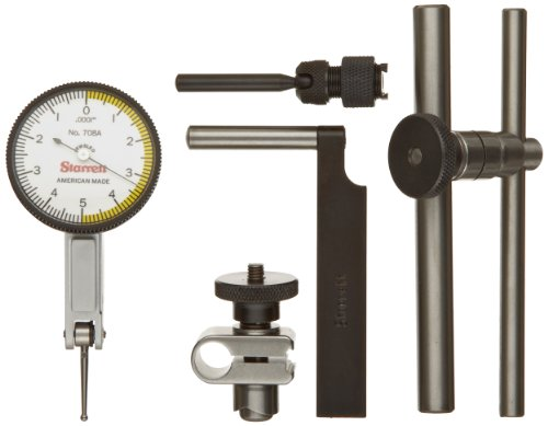 Dial Indicator Accessories : Starrett acz dial test indicator with attachments