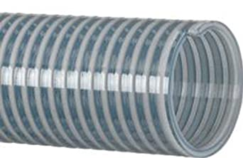 """Economical Heavy Duty Water Suction And Discharge Hose, Clear, 4"""" Hose"""