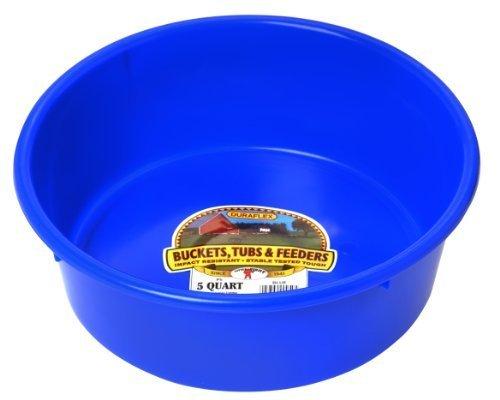 miller-manufacturing-p-5-blue-5-quart-plastic-utility-pans-blue-by-jensen-distributing-lawn-garden