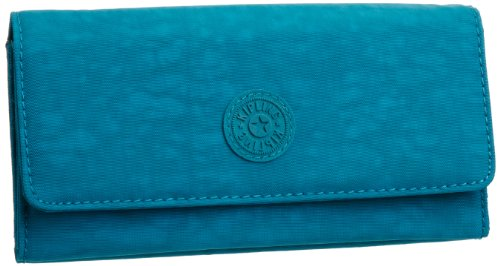 Kipling Unisex-Adult Brownie Wallet Turquoise Blue K10201