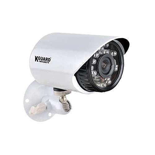 Kguard Securityinc. Tc801-4Hw227A-500G Touching Cloud Series 8 Channel Cloud Dvr With 4X 600Tvl Cameras, 500Gb Hdd Home Security Surveillance Kit (Black/White)
