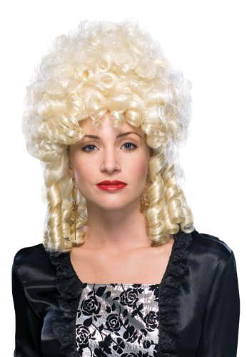 Rubie's Costume Blond Marie Antoinette Wig, Yellow, One Size
