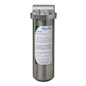 Aqua-Pure AP1610SS Filter with Stainless Steel Housing for Whole House Dirt and Rust Removal System