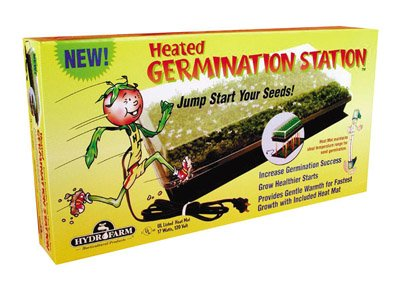 Hydrofarm CK64050 Germination Station with Heat Mat