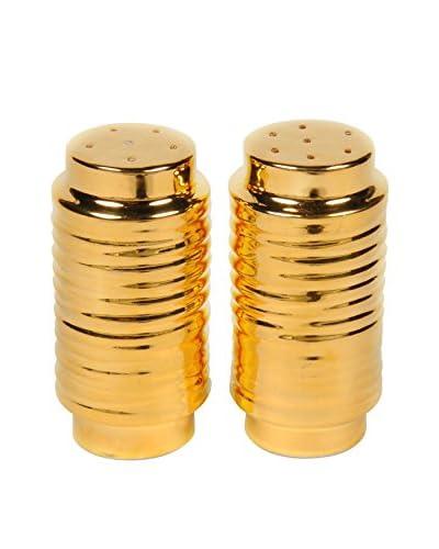 Waylande Gregory Salt and Pepper Shaker Rings, Gold