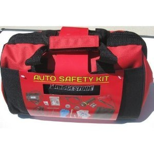 Bridgestone and Travel Road Safety Kit with Carry Case from Bridgestone
