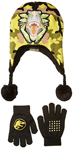 accessory-innovations-little-boys-jurassic-park-camo-killer-laplander-and-glove-multi-one-size