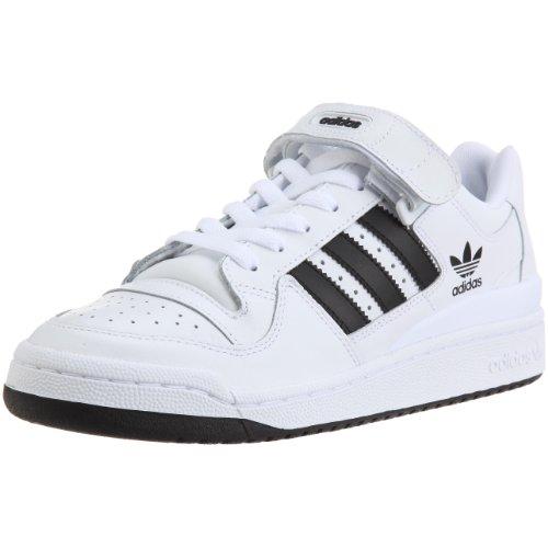 [アディダス] adidas FORUM LO  G1654900 (ホワイト/ブラック/ブラック/25)