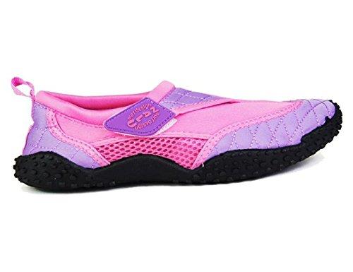 nalu-velcro-aqua-surf-beach-wetsuit-shoes-uk-4-eu-37-pink-with-lilac-trim