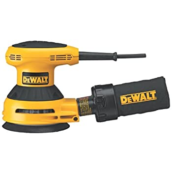 DEWALT D26451KCorded 3 Amp 5-Inch Random Orbit Sander with Cloth Dust Bag